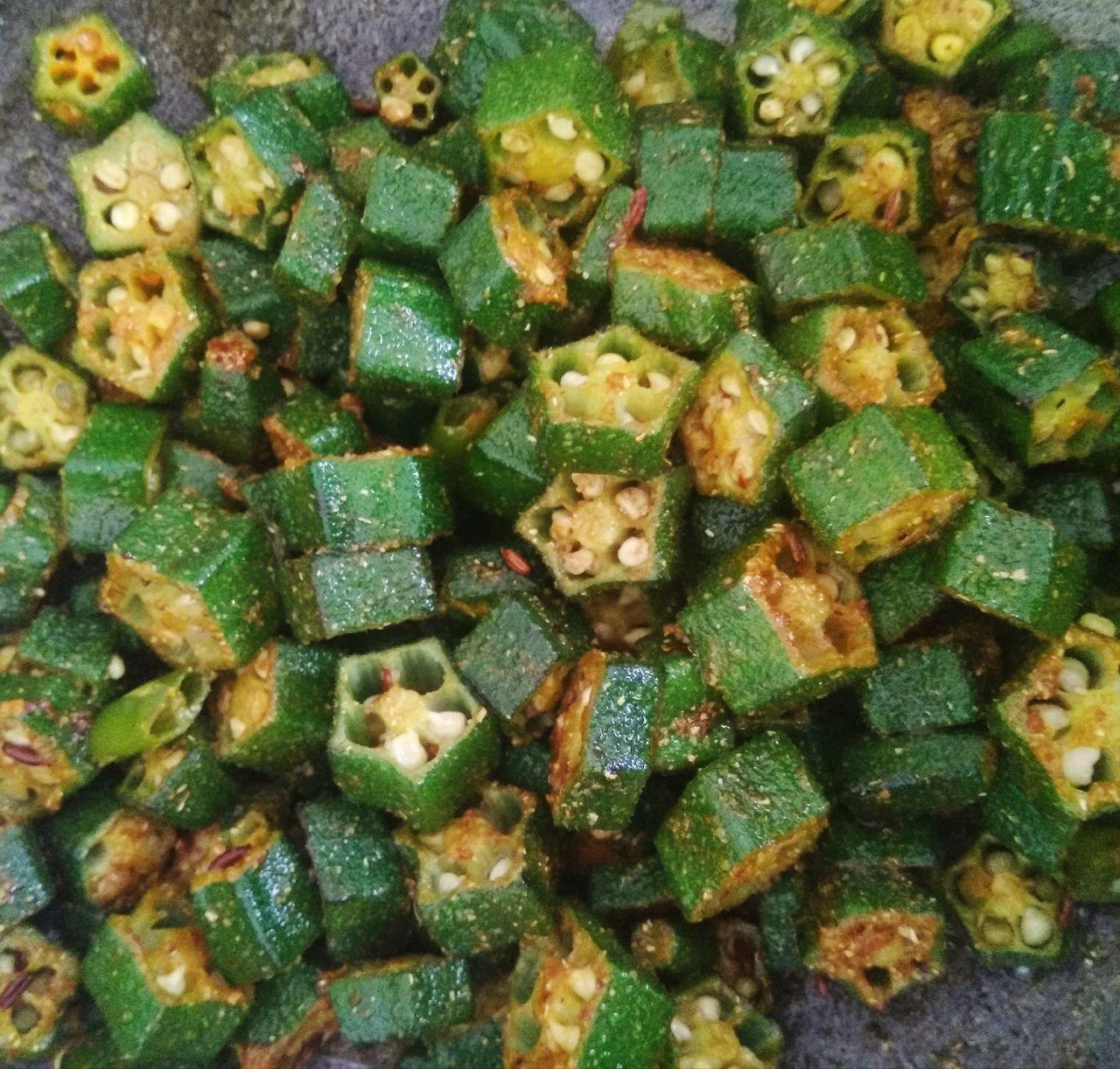 Bhindi Masala without Onion Garlic